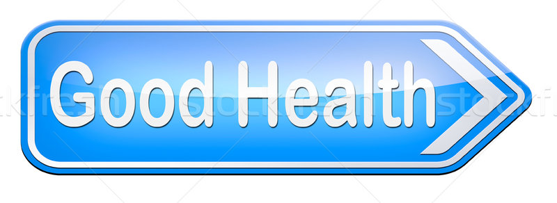 Good health Stock photo © kikkerdirk