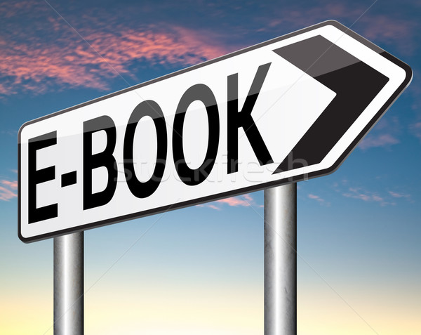 e-book Stock photo © kikkerdirk