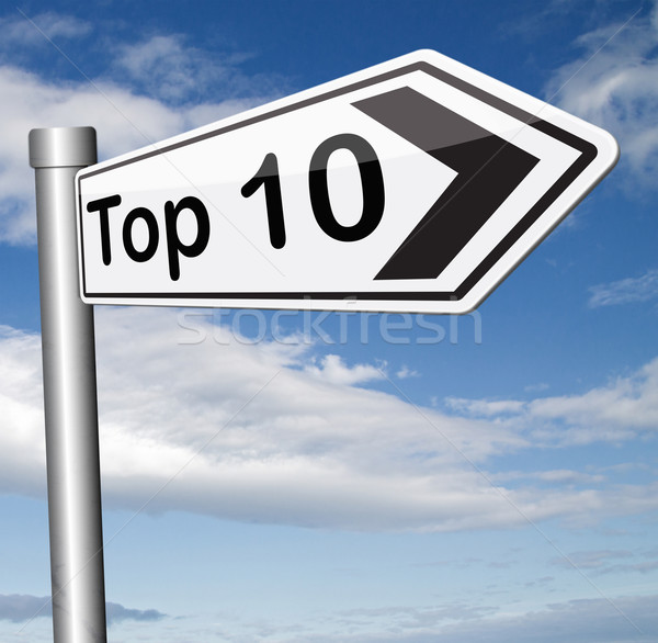 top 10 charts Stock photo © kikkerdirk