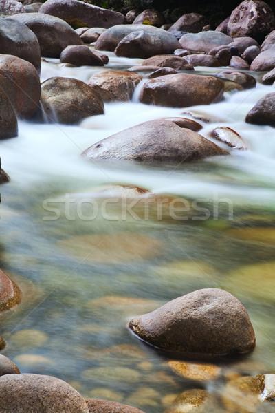 ручей пород потока весны красоту Сток-фото © kikkerdirk