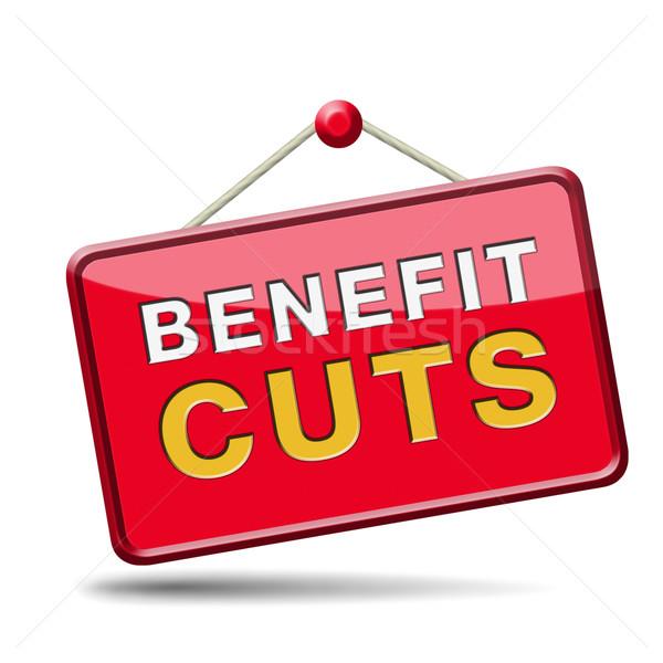benefit cuts Stock photo © kikkerdirk