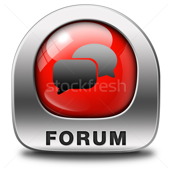 forum icon Stock photo © kikkerdirk