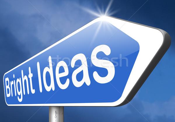 bright ideas Stock photo © kikkerdirk