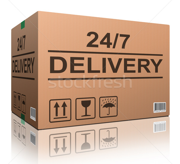24/7 delivery Stock photo © kikkerdirk