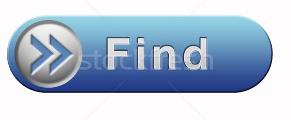 find button Stock photo © kikkerdirk