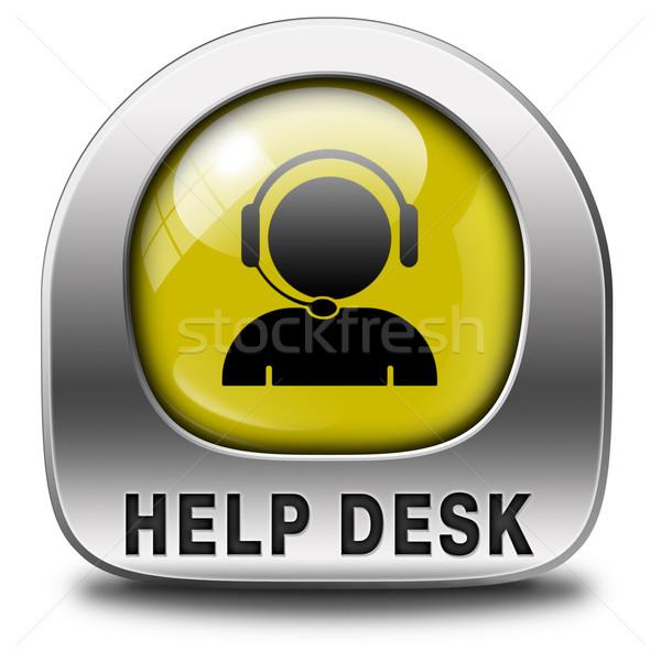 help desk Stock photo © kikkerdirk