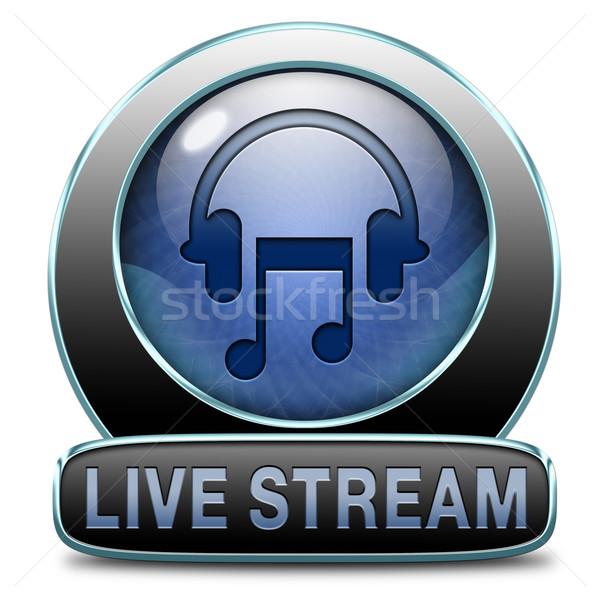live stream music Stock photo © kikkerdirk