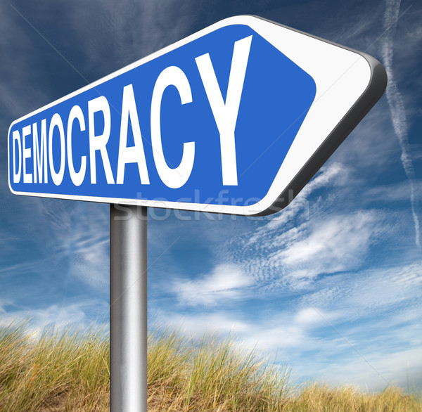 democracy Stock photo © kikkerdirk
