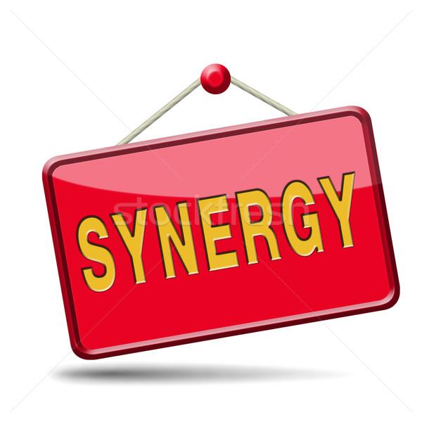 synergy Stock photo © kikkerdirk