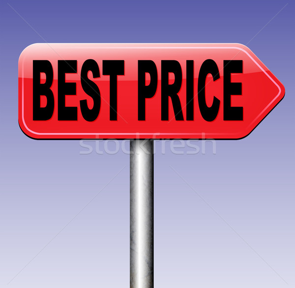 best price Stock photo © kikkerdirk