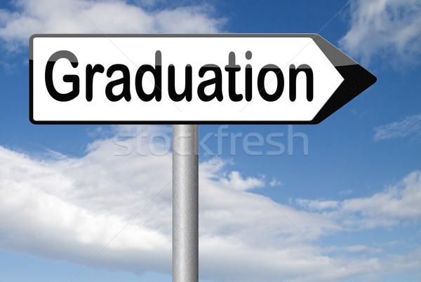 graduation day Stock photo © kikkerdirk