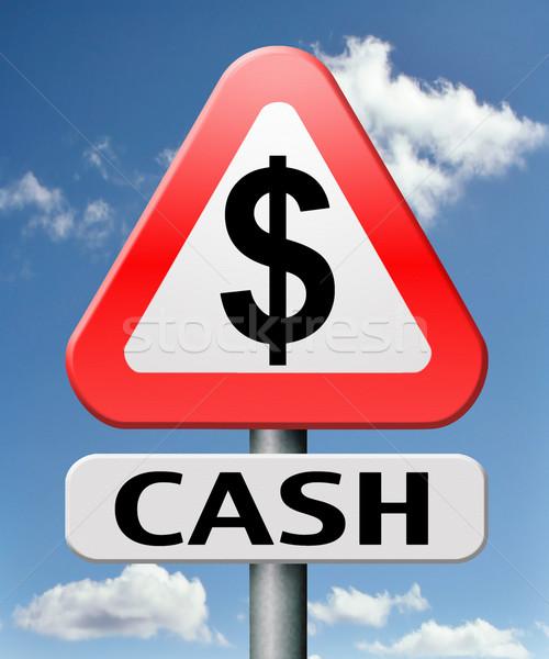 cash money Stock photo © kikkerdirk