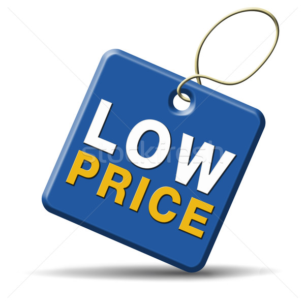 low price icon Stock photo © kikkerdirk