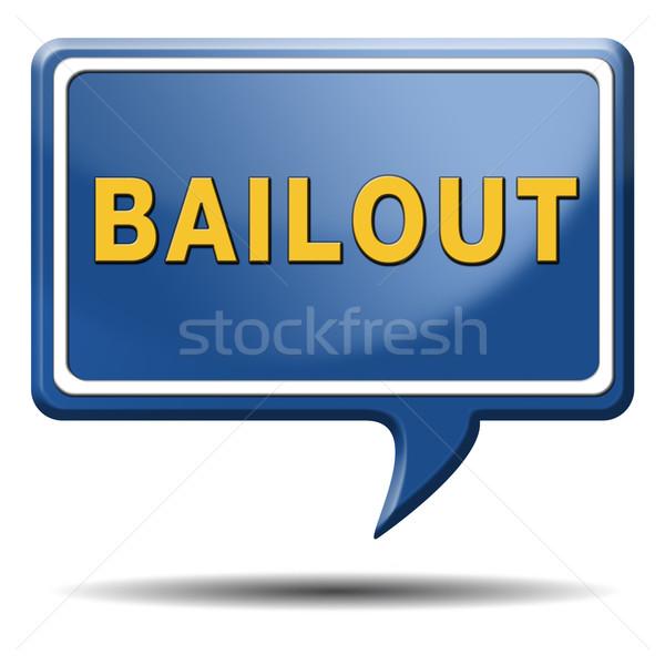 Foto stock: Quiebra · económico · crisis · financieros · recesión · icono