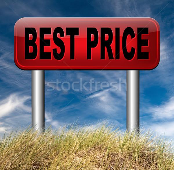 best  and lowest price Stock photo © kikkerdirk