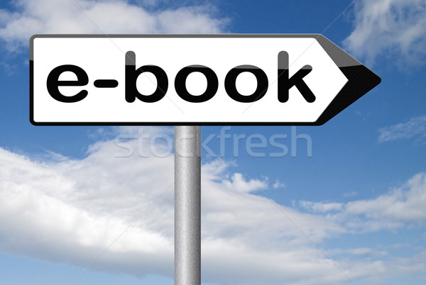 Ebook cyfrowe czytania przeczytać online Zdjęcia stock © kikkerdirk