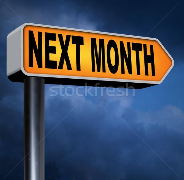 next month Stock photo © kikkerdirk