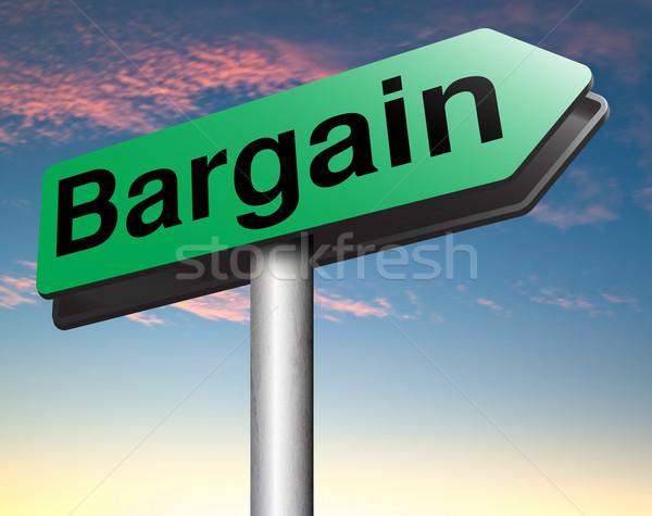 Alkalmi vétel vásár promóció címke ár nagyszerű Stock fotó © kikkerdirk