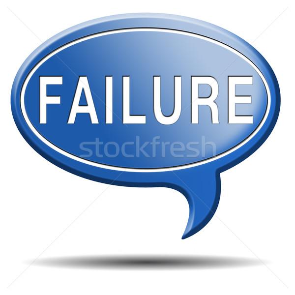 провал экзамен попытка можете плохо важный Сток-фото © kikkerdirk