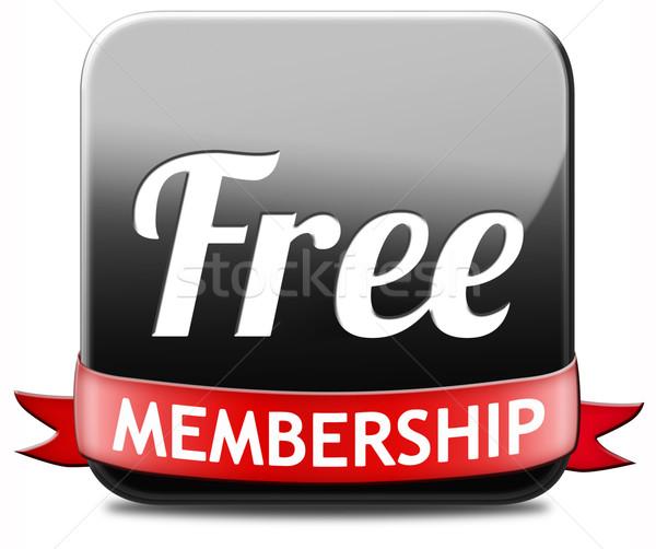 free mambership Stock photo © kikkerdirk