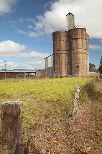 old silo Stock photo © kikkerdirk
