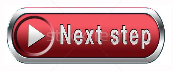 next step button Stock photo © kikkerdirk