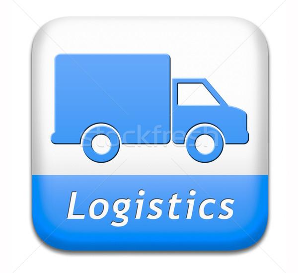 Logistica transporti esportazione commercio internazionale globale Foto d'archivio © kikkerdirk