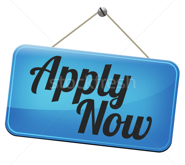 apply now Stock photo © kikkerdirk