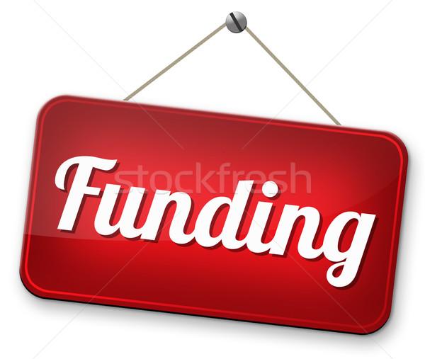 Welzijn collectie liefdadigheid geld schenking Stockfoto © kikkerdirk