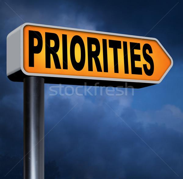 Belangrijk hoog urgentie info belang informatie Stockfoto © kikkerdirk