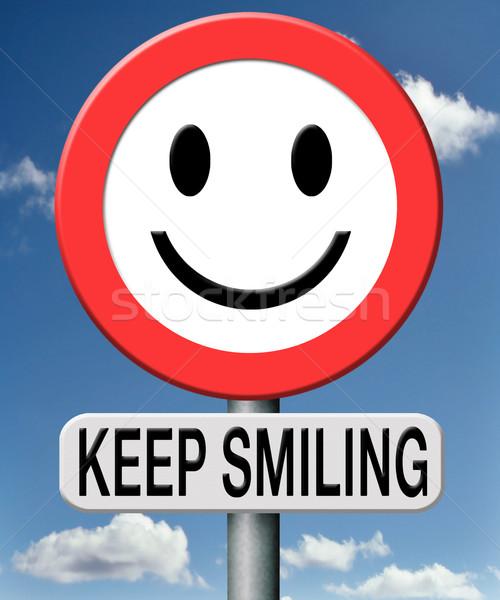 Keep smiling Stock photo © kikkerdirk