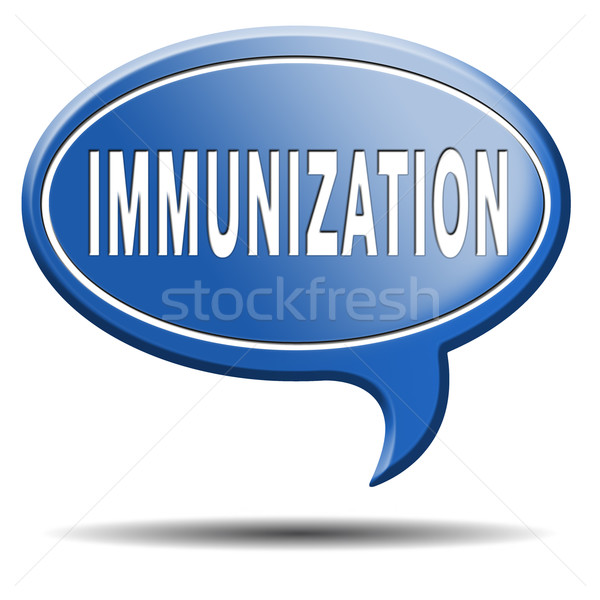 immunization Stock photo © kikkerdirk