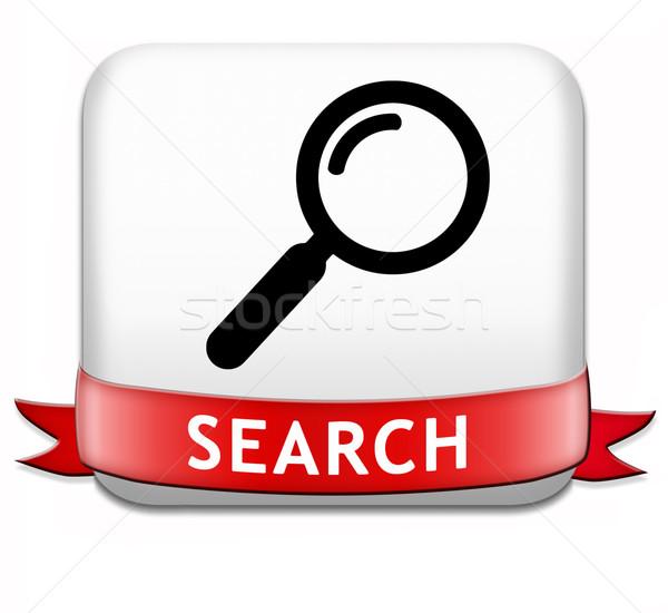 search button Stock photo © kikkerdirk