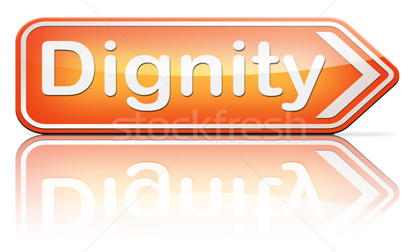 dignity Stock photo © kikkerdirk