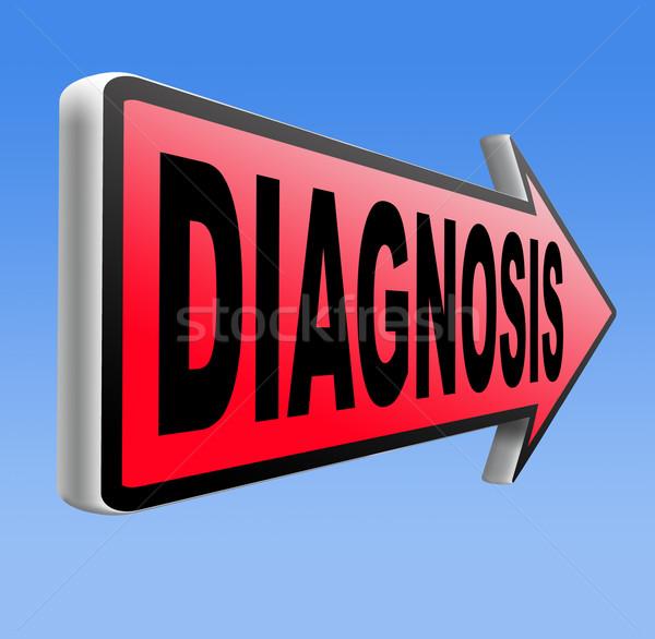 diagnosis Stock photo © kikkerdirk