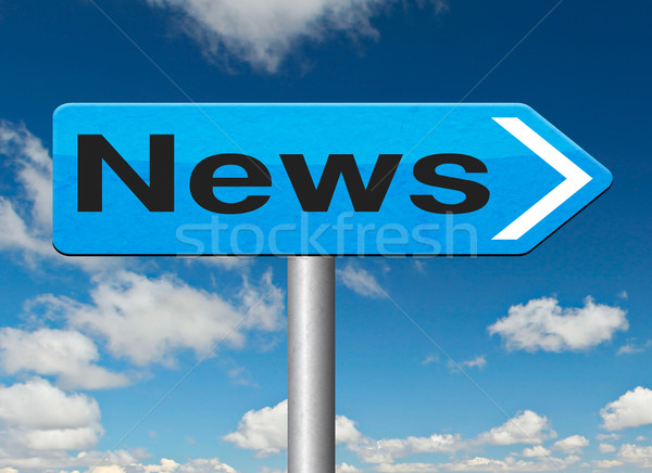 news item Stock photo © kikkerdirk
