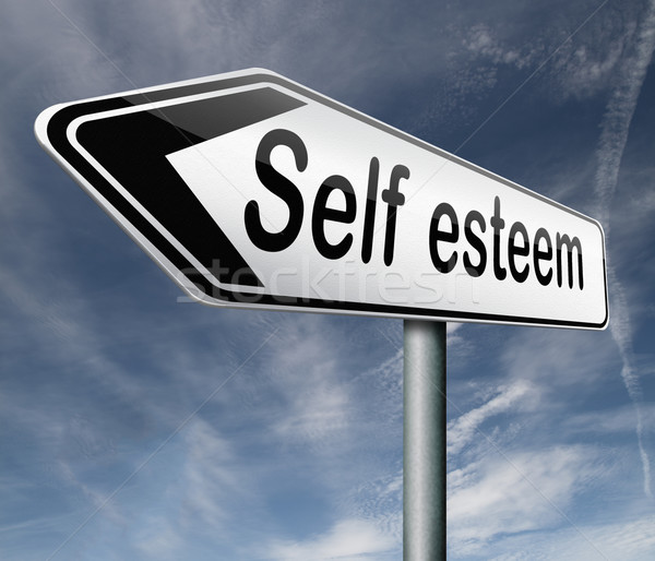 self esteem Stock photo © kikkerdirk