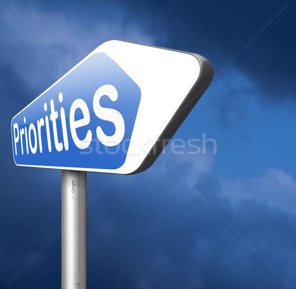 Teken belangrijk hoog urgentie info belang Stockfoto © kikkerdirk