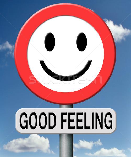 good feeling Stock photo © kikkerdirk