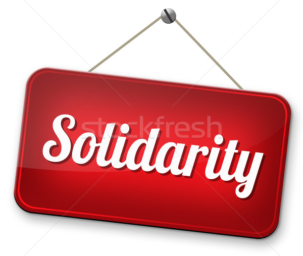solidarity Stock photo © kikkerdirk