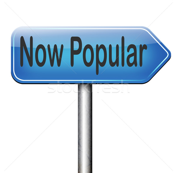 popular now trending Stock photo © kikkerdirk