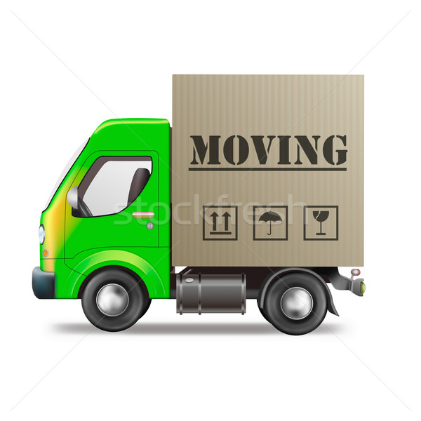 moving truck Stock photo © kikkerdirk