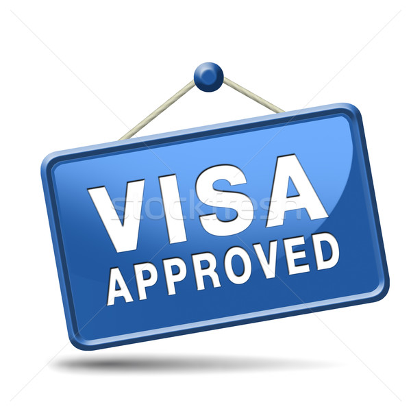 visa approved Stock photo © kikkerdirk