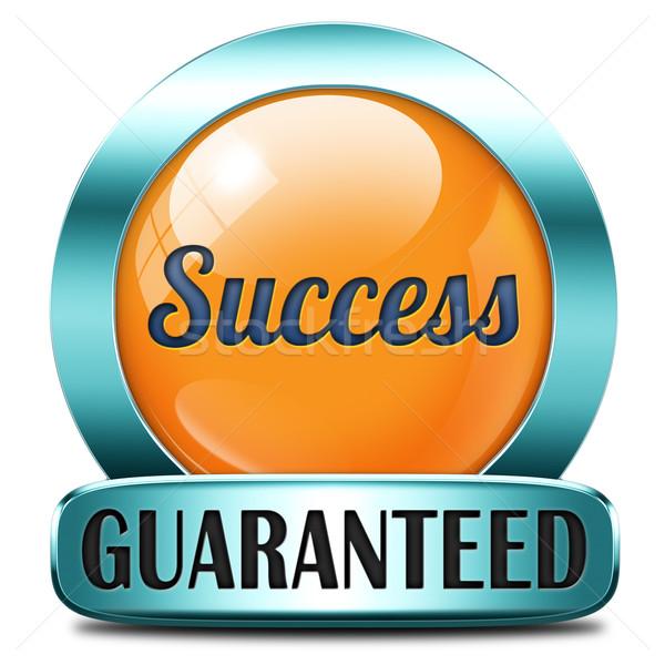 success guaranteed Stock photo © kikkerdirk