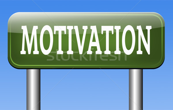Motivatie inspiratie inspireren geven energie Stockfoto © kikkerdirk