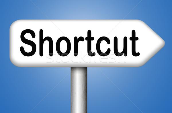 shortcut Stock photo © kikkerdirk