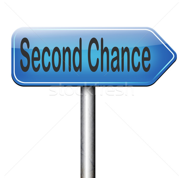 second chance Stock photo © kikkerdirk