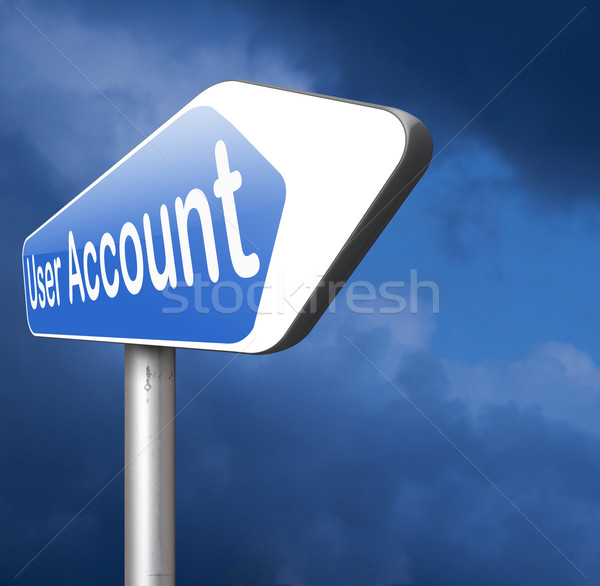 your user account Stock photo © kikkerdirk