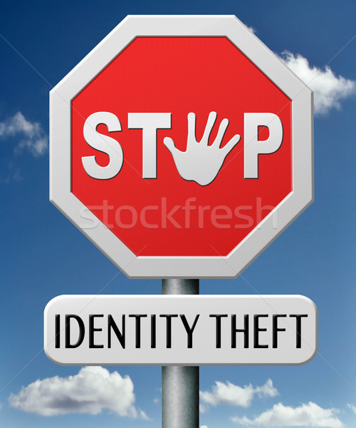identity theft Stock photo © kikkerdirk