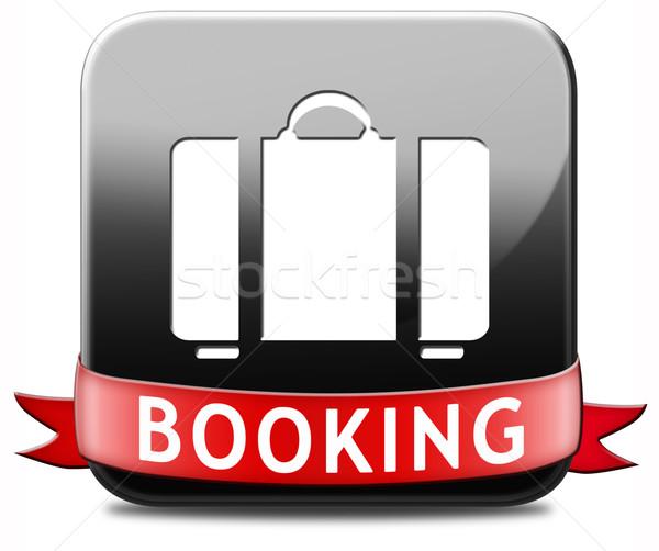 booking vacation ticket Stock photo © kikkerdirk